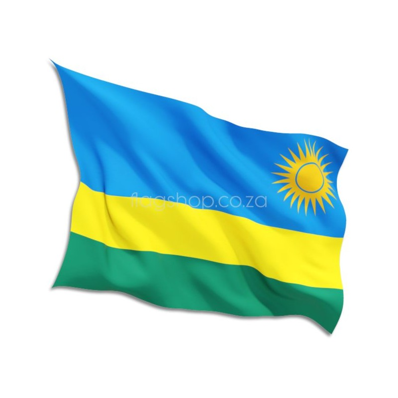 Rwanda Country Flag