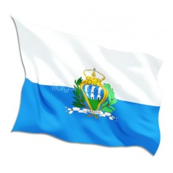 San Marino Country Flag