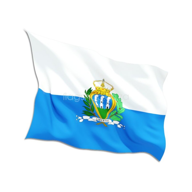 San Marino Country Flag