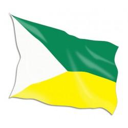 Jolly Roger Flag Yellow
