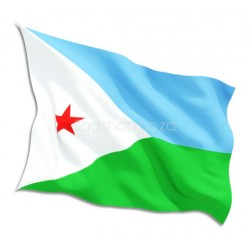 Congo Country Flag – Democratic Republic