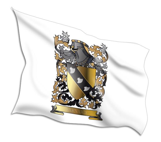 Buy Barnard Coat of Arms Flags