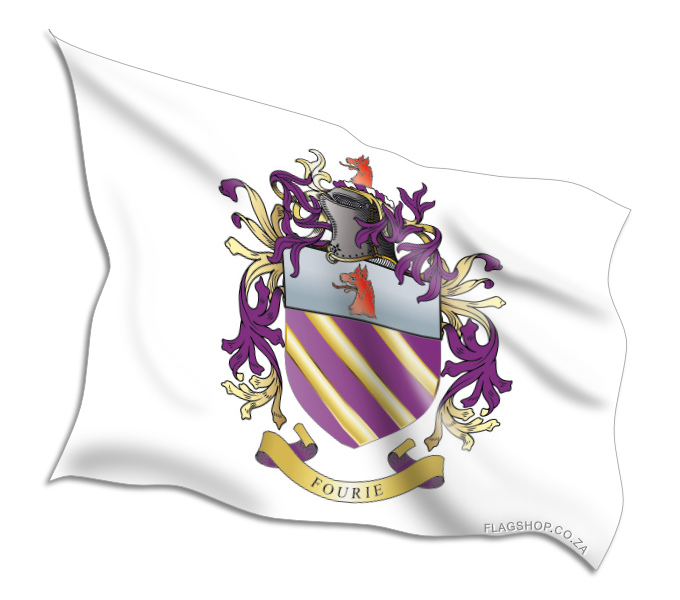 Buy Fourie Coat of Arms Flags